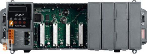 iP-8847 # Controller/MiniOS7/ISaGRAF/8 hely/512KB/2x Ethernet, ICP DAS