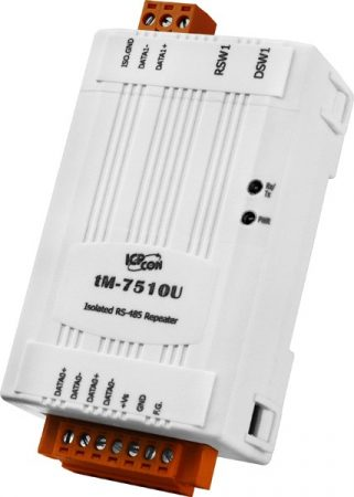 tM-7510U # Repeater/tiny/RS-485/isolated, ICP DAS