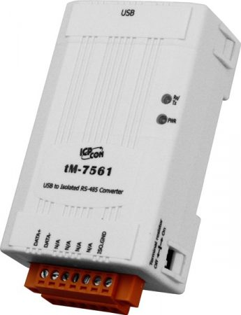 tM-7561 # szigetelt USB - RS-485 konverter, Windows XP/7/8/10 driverek, ICP DAS