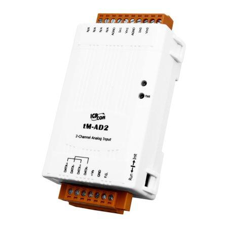 tM-AD2 # I/O Module/Modbus RTU/tiny/2 AI, ICP DAS, ICP CON