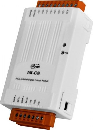 tM-C8 # I/O Module/Modbus RTU/tiny/8DO/isolated/OC, ICP DAS, ICP CON