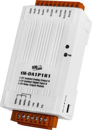 tM-DA1P1R1 # I/O Module/Modbus RTU/tiny/1AO/1DI/isol./1relay, ICP DAS, ICP CON