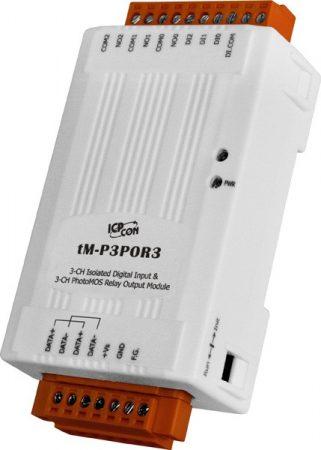 tM-P3POR3 # I/O Module/Modbus RTU/tiny/3 PhotoMOS Relay/3DI, ICP DAS, ICP CON
