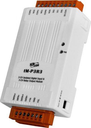 tM-P3R3 # I/O Module/Modbus RTU/tiny/3 Relay/3DI, ICP DAS, ICP CON