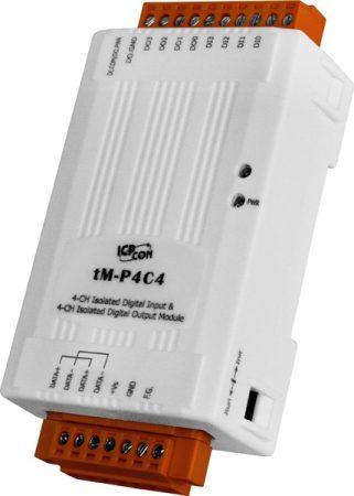 tM-P4C4 # I/O Module/Modbus RTU/tiny/4 DI/4 DO/OC/isolated, ICP DAS, ICP CON