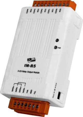 tM-R5 # I/O Module/Modbus RTU/tiny/5 Relay Output, ICP DAS, ICP CON