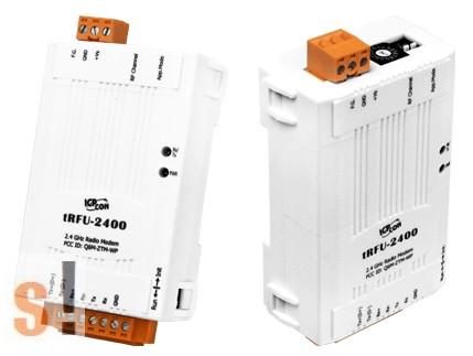 tRFU-2400 # 2.4 GHz vezeték nélküli modem/ RS-232/RS-485/RS-422 port/Wireless Modem, ICP DAS, ICP CON
